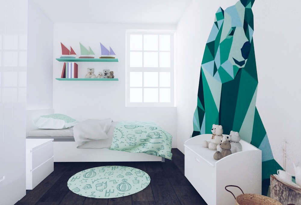 flat renovation - kid's room
